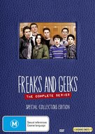 """""""Freaks and Geeks"""" - Australian DVD movie cover (xs thumbnail)"""