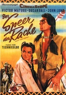 Chief Crazy Horse - German Movie Poster (xs thumbnail)