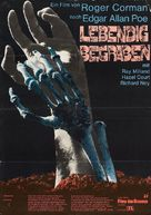 Premature Burial - German Movie Poster (xs thumbnail)