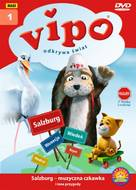 """""""Vipo: Adventures of the Flying Dog"""" - Polish DVD movie cover (xs thumbnail)"""