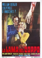 La lama nel corpo - Italian Movie Poster (xs thumbnail)
