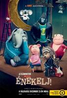 Sing - Hungarian Movie Poster (xs thumbnail)