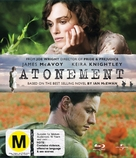 Atonement - New Zealand Blu-Ray movie cover (xs thumbnail)