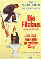 L'emmerdeur - German Movie Poster (xs thumbnail)