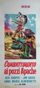 Duel at Apache Wells - Italian Movie Poster (xs thumbnail)