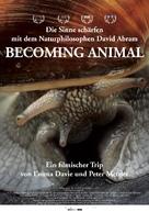 Becoming Animal - German Movie Poster (xs thumbnail)