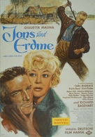 Jons und Erdme - German Movie Poster (xs thumbnail)