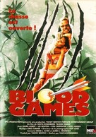 Blood Games - French DVD movie cover (xs thumbnail)