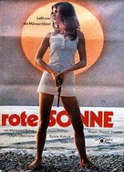 Rote Sonne - German Movie Poster (xs thumbnail)