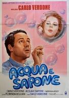 Acqua e sapone - Italian Movie Poster (xs thumbnail)