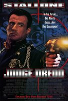 Judge Dredd - Video release movie poster (xs thumbnail)