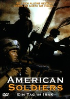 American Soldiers - German DVD cover (xs thumbnail)