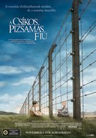 The Boy in the Striped Pyjamas - Hungarian Movie Poster (xs thumbnail)