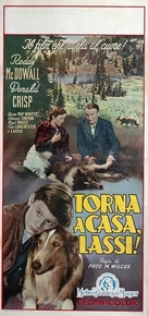 Lassie Come Home - Italian Movie Poster (xs thumbnail)