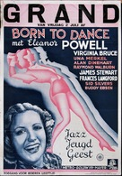 Born to Dance - Dutch Movie Poster (xs thumbnail)