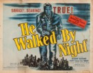He Walked by Night - Movie Poster (xs thumbnail)