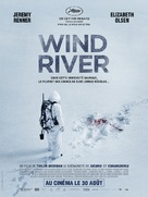 Wind River - French Movie Poster (xs thumbnail)