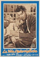 It's a Wonderful Life - Italian Movie Poster (xs thumbnail)