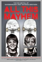 All This Mayhem - Movie Poster (xs thumbnail)