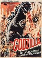 Gojira - Belgian Movie Poster (xs thumbnail)