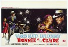 Bonnie and Clyde - Belgian Movie Poster (xs thumbnail)
