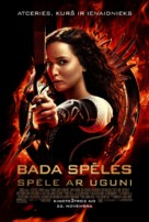 The Hunger Games: Catching Fire - Latvian Movie Poster (xs thumbnail)