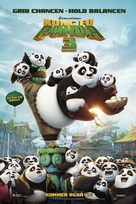 Kung Fu Panda 3 - Danish Movie Poster (xs thumbnail)
