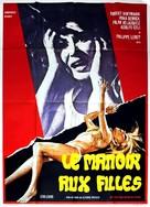 Ragazza tutta nuda assassinata nel parco - French Movie Poster (xs thumbnail)