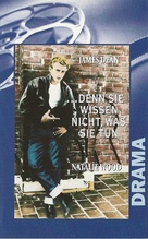 Rebel Without a Cause - German VHS movie cover (xs thumbnail)