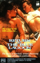 Return to the Blue Lagoon - Movie Cover (xs thumbnail)