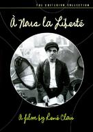 À nous la liberté - DVD cover (xs thumbnail)