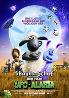 A Shaun the Sheep Movie: Farmageddon - German Movie Poster (xs thumbnail)