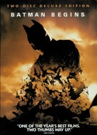 Batman Begins - DVD cover (xs thumbnail)