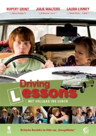 Driving Lessons - German Movie Poster (xs thumbnail)