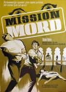 Agent spécial à Venise - Danish Movie Poster (xs thumbnail)