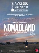 Nomadland - French Movie Poster (xs thumbnail)