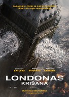 London Has Fallen - Latvian Movie Poster (xs thumbnail)