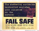 Fail-Safe - Theatrical poster (xs thumbnail)