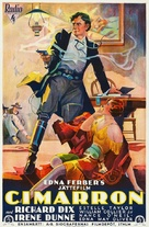 Cimarron - Swedish Movie Poster (xs thumbnail)