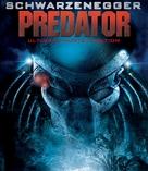 Predator - German Blu-Ray movie cover (xs thumbnail)