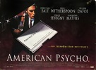 American Psycho - British Movie Poster (xs thumbnail)