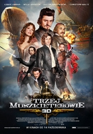 The Three Musketeers - Polish Movie Poster (xs thumbnail)