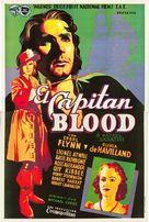 Captain Blood - Spanish Movie Poster (xs thumbnail)