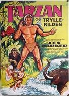 Tarzan's Magic Fountain - Danish Movie Poster (xs thumbnail)