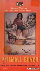 The Female Bunch - VHS cover (xs thumbnail)