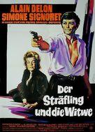 Veuve Couderc, La - German Movie Poster (xs thumbnail)