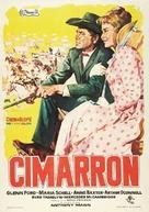 Cimarron - Spanish Movie Poster (xs thumbnail)