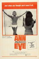 Ann och Eve - de erotiska - Movie Poster (xs thumbnail)