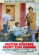 Mutter Küsters Fahrt zum Himmel - German Movie Poster (xs thumbnail)