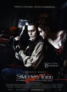 Sweeney Todd: The Demon Barber of Fleet Street - Spanish Movie Poster (xs thumbnail)
